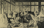 Hospital Supply Depot at Roehampton Club by Ethel Gabain - print