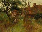 The Happy Hours of Childhood by Alfred Glendening Jnr - print