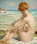 The Bather by Thomas Martine Ronaldson - print