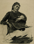 A Study by Sir Hubert von Herkomer - print