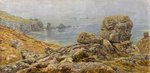 The Land's End, Cornwall by The Honourable John Collier - print