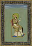 The Mogul Emperor Farrukhsiyar by Indian School - print