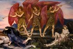 Aurora Triumphans by Evelyn De Morgan - print