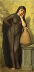 An Egyptian Water-Carrier by Arthur Hill - print