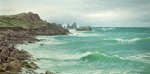 Rising Tide - Coast of Scilly by David James - print