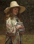 Her First Love by Alfred Reginald Thomson - print