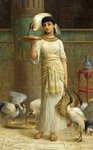 Alethe, Attendant of the Sacred Ibis by Edwin Longsden Long - print