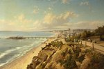 Bournemouth by the Sea by H. Maidment - print