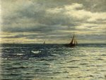 Seascape by Henry Moore - print