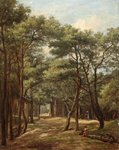 Manor Road, Bournemouth, 1886 by G. Pare - print