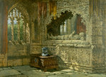 Tomb in the Crypt of Arundel Castle by Samuel Rayner - print