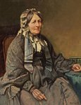Mrs Samuel Cotes by Frank Richards - print
