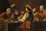 The Gamblers by Theodor Rombouts - print
