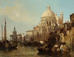 Venetian Scene by Henry Courtney Selous - print