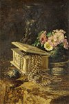 My Lady's Bedchamber - Still Life with Jewell Box by Frederick Bentz - print