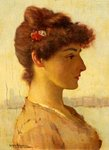 A Venetian Beauty by William Arthur Breakspeare - print