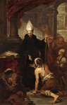 Saint Thomas of Villanueva by Thomas Matthews Rooke - print