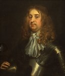 An Officer of the English Civil War by Sir Peter Lely - print