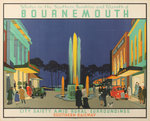 Winter in the Southern Sunshine and Warmth of Bournemouth by George Henry Gawthorne - print