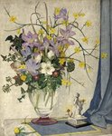 January Flowers by Maxwell Ashby Armfield - print