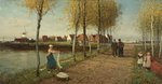 A Dead City of the Zuider Zee (The Town of Doorn , N. Holland) by George Henry Boughton - print