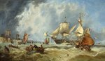 Scene in the English Channel by John Callow - print