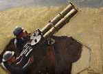 Study of RAF Machine Gunmen by Keith Henderson - print
