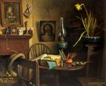 Fingerprints by Charles Spencelayh - print