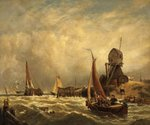 On the Scheldt by Anonymous - print