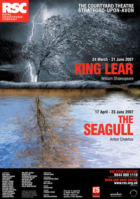 King Lear / The Seagull 2007 by Trevor Nunn - print