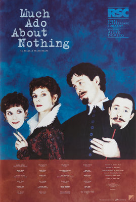 Much Ado about Nothing, 1996 by Michael Boyd - print