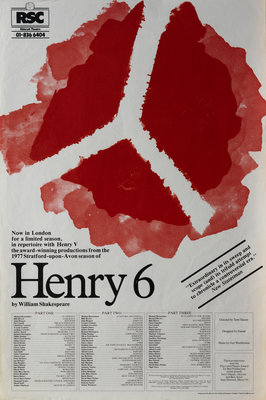 Henry 6, 1978 by Terry Hands - print
