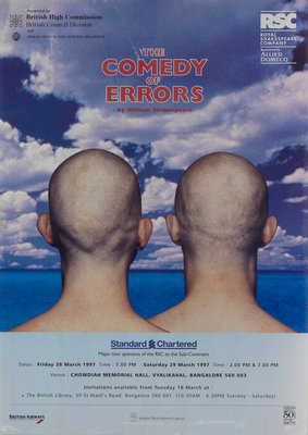 The Comedy of Errors, 1997 by Tim Supple - print