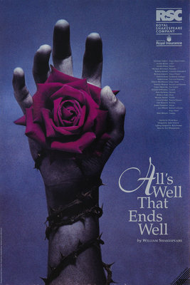 All's Well That Ends Well, 1992 by Peter Hall - print