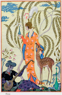 Persia Poster Art Print by Georges Barbier