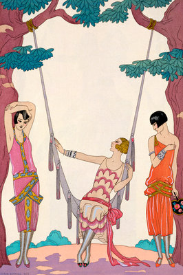 Summer Poster Art Print by Georges Barbier