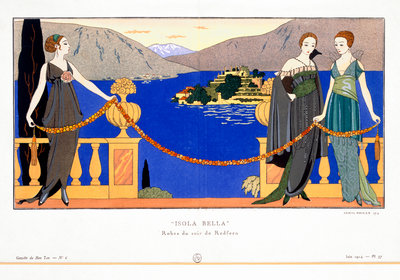 Isola Bella Poster Art Print by Georges Barbier