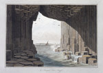 In Fingal's Cave Poster Art Print by Joseph Wright of Derby