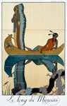 The Length of the Missouri Poster Art Print by Jacques Grasset de Saint-Sauveur