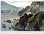 Near Kingswear Poster Art Print by Joseph Mallord William Turner