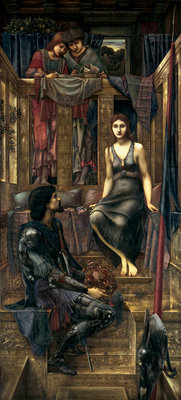 King Cophetua and the Beggar Maid, 1884 Poster Art Print by Sir Edward Coley Burne-Jones
