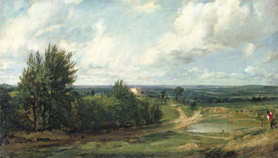 Fine Art Print of Hampstead Heath...c.1819 by John Constable