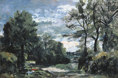 A Lane Near Flatford, c.1810 Poster Art Print by John Constable