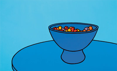 Sweet Bowl, 1967 Poster Art Print by Patrick Caulfield