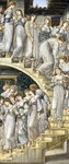 The Golden Stairs, 1880 Poster Art Print by Sir Edward Coley Burne-Jones
