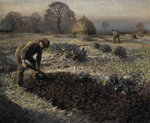 A Frosty March Morning, 1904 Poster Art Print by Sir George Clausen