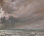 The Sea near Brighton, 1826 Poster Art Print by John Constable