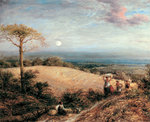 Harvest Moon, 1858 Poster Art Print by Gilbert Spencer