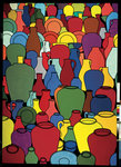 Pottery, 1969 Poster Art Print by Patrick Caulfield
