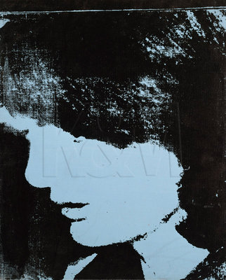 Jackie- Inauguration (Profile Facing Right), 1964 Poster Art Print by Andy Warhol
